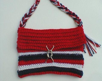 Red, White and Blue - Patriotic Purse