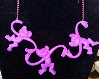 Fun quirky monkey necklace.