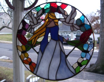 Stained Glass Springtime catcher