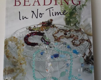 Beading in No Time book, new