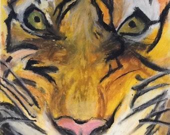 The Eye of a Tiger Digital Print