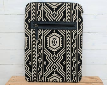 Vegan Black Jazz Laptop/Tablet Sleeve