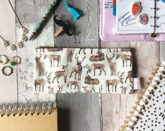 Deer Print, Pencil Case, Woodland Animal, Deer, Pencil Pouch, Make Up Bag, Pouch, Cosmetic Bag, Zipper Pouch, Toiletries, pencil bag, bag