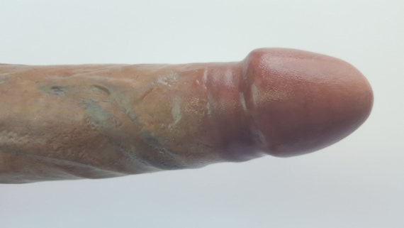 OMEN VII Dildo #1007-Hand Painted Silicone-Mature-Adult Toy