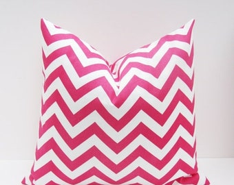 15% Off Sale PINK Pillow Decorative Pillow cover Chevron Pillow Pink Pillow Throw Pillow Cover Housewares Home Decor Toss Pillow cover Decor