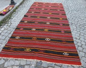 kilim rug, kilim runner, large kilim rug, large turkish, anatolian rug, vintage rug, moroccan rug, large moroccan rug, 428