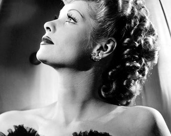 Lucy Lucille Ball Hollywood Poster Art Photo 11x14