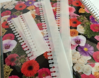 BellaRose Spiral Snapins ! Coil Clips Now in 5 Pack!  Make Your Own Inserts for Spiral Bound Planners and Notebooks!