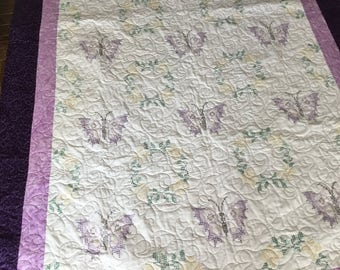 Twin Butterfly quilt #115