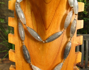 Gray Agate Chain