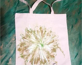 Purchase abstract flower bag