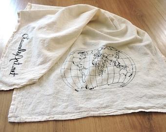World Travel Kitchen Tea Towel