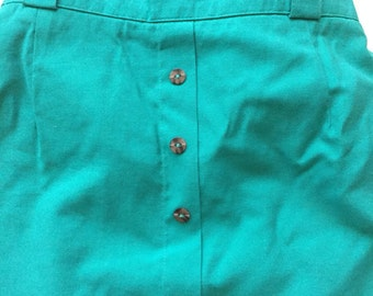 80's Jade skirt