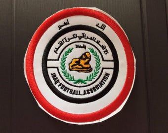 Patch Iraq Football Association - FIFA - Asia - World Cup - Baghdad  - Irak