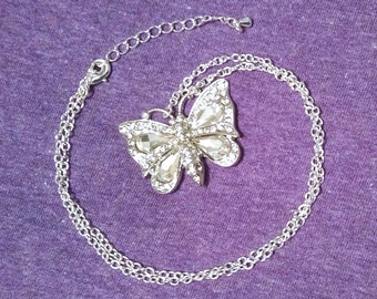 Big - Butterfly - Necklace
