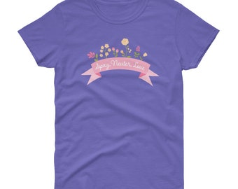 Show some Spay and Neuter Love with this Spring responsible pet guardian tee - perfect for Mother's Day.