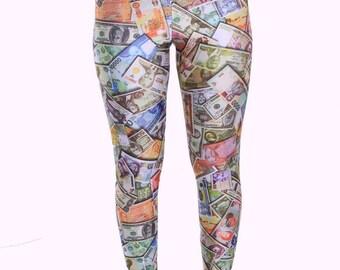 CLEARANCE -Money Spandex Leggings