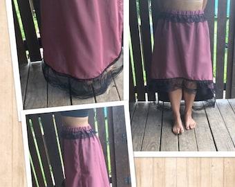 Handmade Western Saloon Costume Skirt