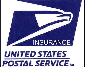 USPS Postal Insurance for Value up to 50.00