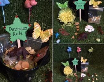 Make Your Own Dinosaur Garden Gift Set #Dinosuars #Garden #Miniature  #Christmas #Xmas #Stockingfiller #Gift