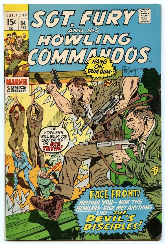 Sgt. Fury 84 Feb 1971 VG-FI (5.0)