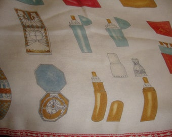 Silk Scarf, Winterthur, Vintage