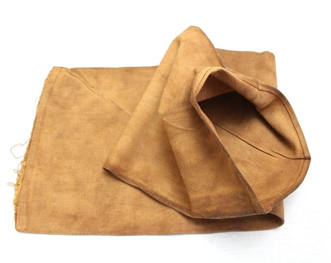 Sakabukuro. Japanese Antique Industrial Sack. Collectible Hand Made Sake Bag. (Ref: 1878)