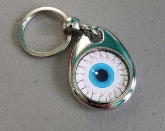 Bloodshot Eyeball Keychain