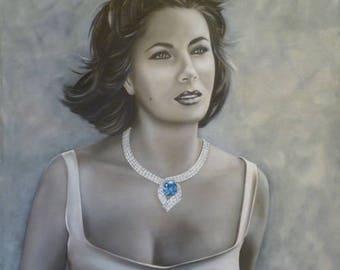Elizabeth Taylor Giclee