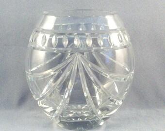 Waterford Crystal Vase // Gorgeous // Geometric Design // Wedding Present // Heirloom // Housewarming Gift