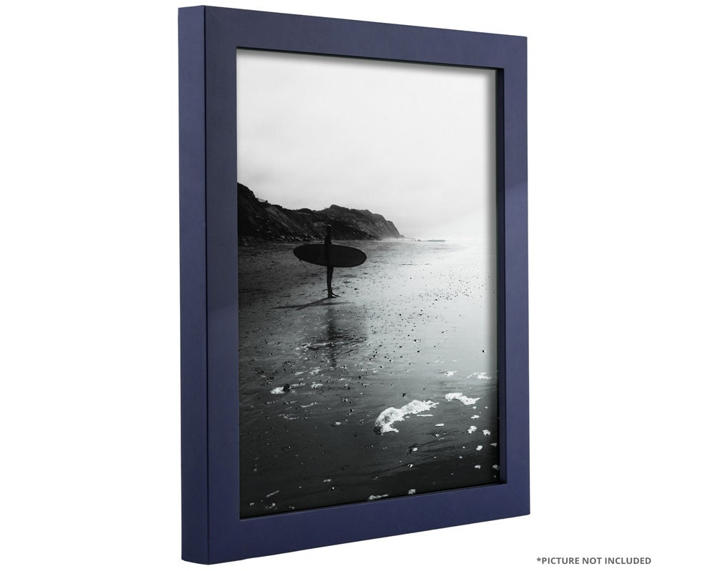 Craig Frames 22x28 Inch Navy Blue Picture Frame .75
