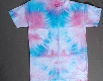 Abstract Tie Dye Tee Shirt