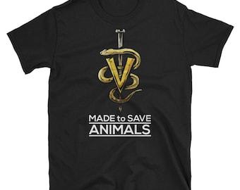 Made to Save Animals - veterinarians veterinarian veterinary veterinarians gift gifts office tshirt shirts gifts shirt t shirt t-shirt tshir