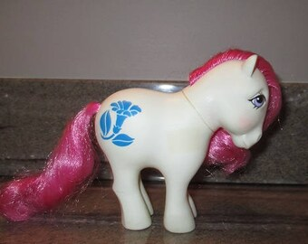 Vintage My Little Pony MORNING GLORY G1 - Mail Order BIRTHFLOWER - September - 1982 Hasbro - Rare