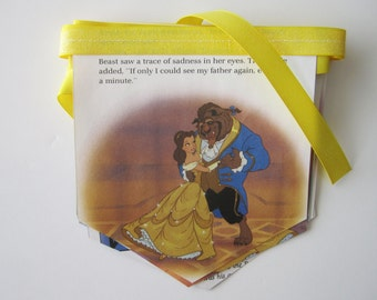 Beauty and the Beast Birthday Party - Beauty and the Beast Party Banner - Baby Shower Banner  - Belle Party - Disney Princess Banner
