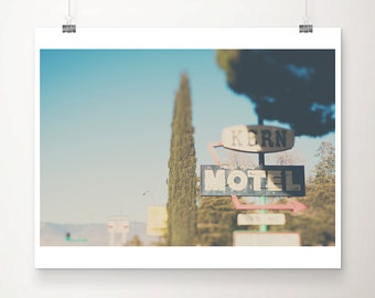 motel photograph travel photography california photograph retro sign photograph california print motel print wanderlust art