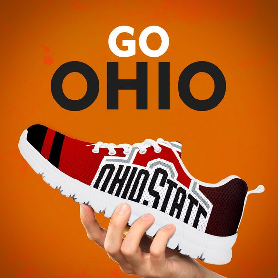 Sneakers Gift Football Kids Shoes Running Gift Trainers Custom Gift Sizes White Mens Black Collector Womens Buckeyes E7fBqwOw