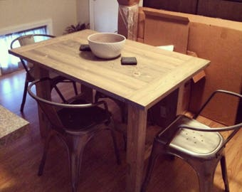 Dining Table, Dining Room Table, Solid Wood Dining Table, Rustic Table, Farmhouse Dining Table