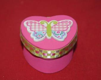 tooth milk, pill box or small treasure box