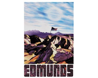 "Edmunds 13"" x 19"" Travel Poster - Interstellar"