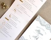 Wedding Day Timeline, LAC...
