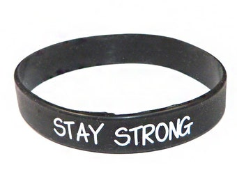 SESH Wristband, Bracelet, Silicone Wristband. Add to your purchase. Stay Strong