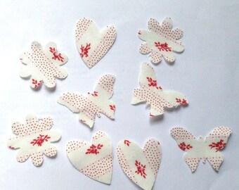 Cuts 9 dies scrapbooking embellishment mix fabric