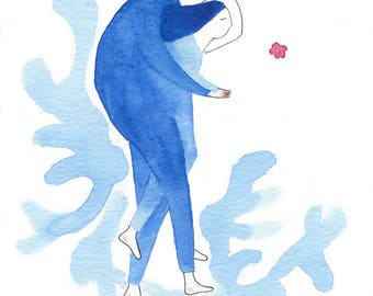 Have lan shi is a (love is blue No.14)