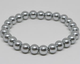 Charming Faux Haitian Pearl Bracelet
