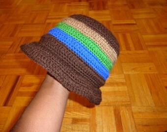 Godiva Pageant, Crochet Brim Cap