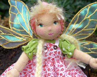 Tiny Spring Flower Fairy