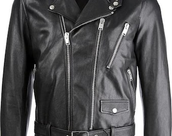 GENUINE LEATHER ALBERTO jacket