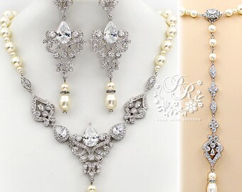 Wedding Jewelry Sets Etsy