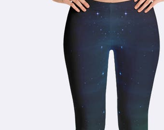 Galaxy Leggings, Astronomy Leggings, Science Leggings, Stars Leggings, Space Leggings, Science Teacher Gift, Science Clothing